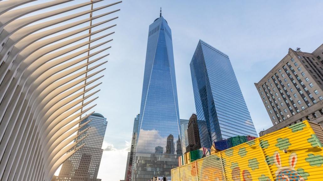 ساختمان جدید سازمان تجارت جهانی