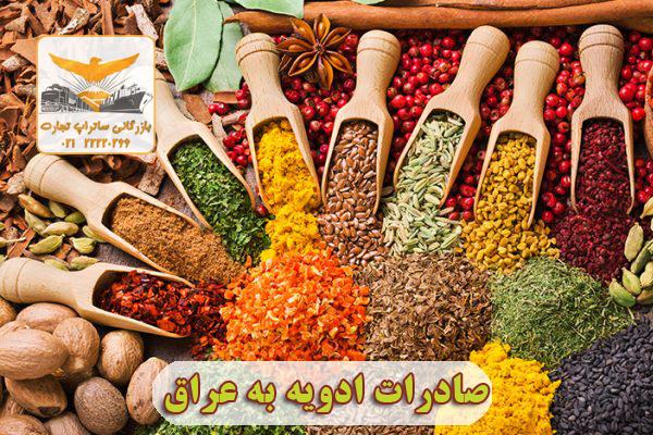 صادرات ادویه به عراق